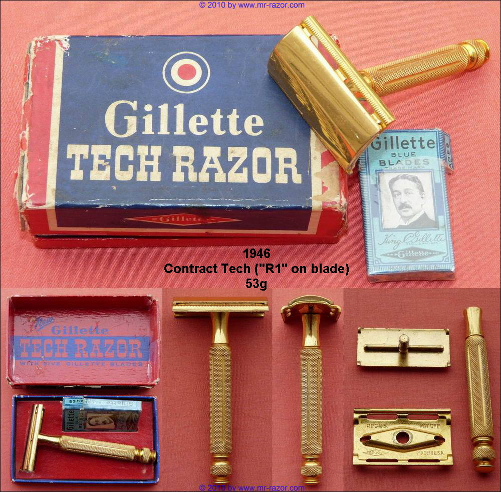 dating gillette tech razors Razor serial numbers were impressed on all gillette razors from 1904 until 1921, and on deluxe models from 1921 until 1931 (except for a period in 1927-28) this.
